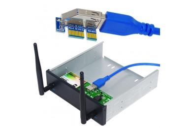 PCI-E无线网卡驱动及安装教程--SU-FW2600/2601