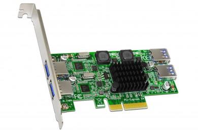 双通道 USB3.0扩展卡驱动及安装教程--SU-U3201